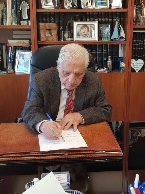 Ο πρόεδρος και διευθύνων σύμβουλος της ΒΙΑΝΕΞ, Παύλος Γιαννακόπουλος