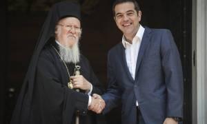 Τσίπρας σε Βαρθολομαίο για το Σκοπιανό: Επιχειρούμε να λύσουμε διαφορές χρόνων