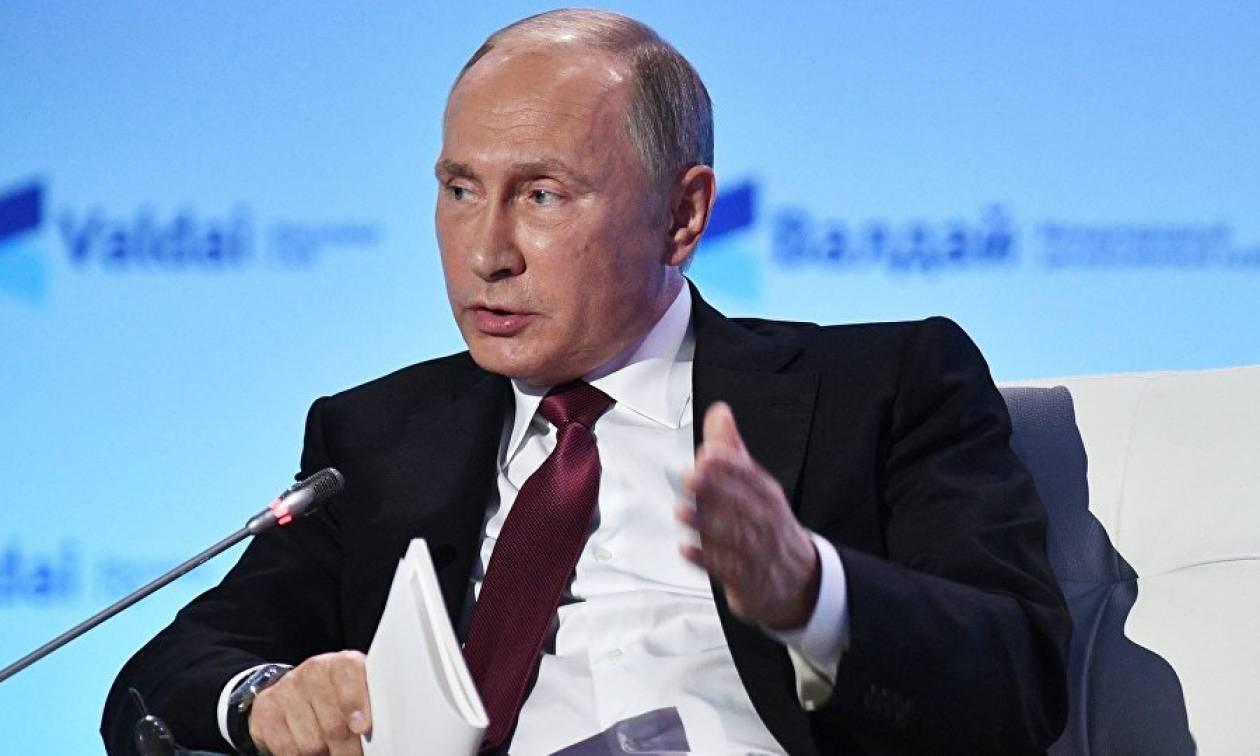 Σπάνια συνέντευξη Πούτιν: Δεν επιθυμούμε τη διάσπαση της ΕΕ, την θέλουμε ενωμένη