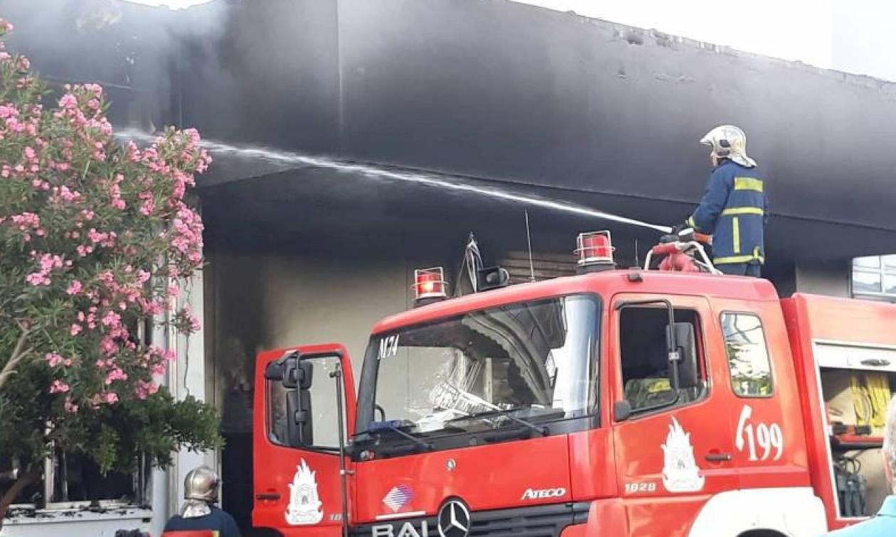 Φωτιά - Περιστέρι: Αποκλειστικές εικόνες του Newsbomb.gr από τον πύρινο εφιάλτη