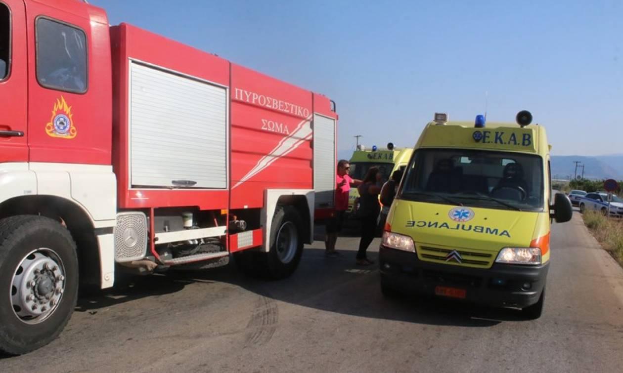 Τραγωδία στην Ε.Ο. Αθηνών - Λαμίας: Ένας νεκρός σε τροχαίο στη Μαλακάσα