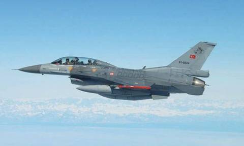 Two pairs of Turkish F-16s infringed Athens FIR, flew over Greek islets