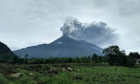Γουατεμάλα: Νέα ισχυρή έκρηξη στο ηφαίστειο «Fuego» - Εκκενώνονται περιοχές