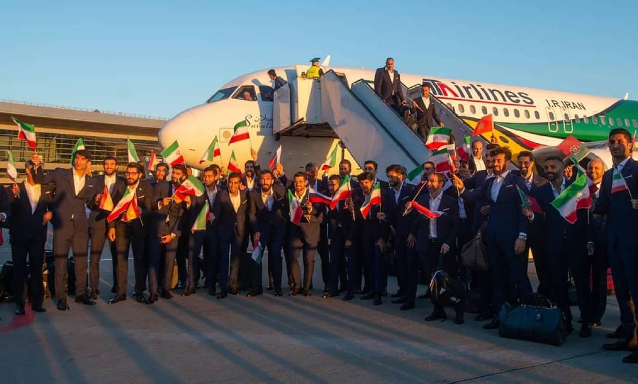 Παγκόσμιο Κύπελλο 2018: Το Ιράν έφτασε πρώτο στην Ρωσία (pics)