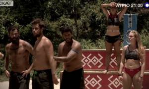 Survivor 2: H μάχη για την αποψινή ασυλία και η βίαιη συμπεριφορά του Αγόρου