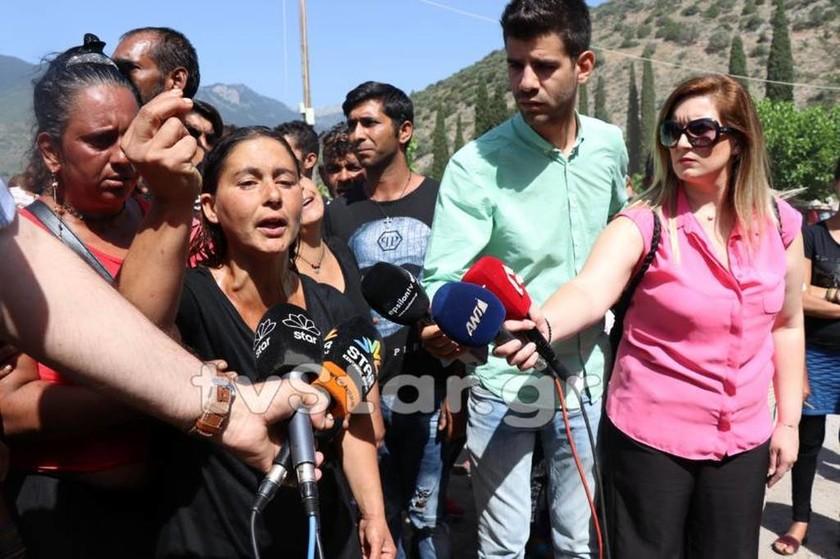 Άμφισσα: Συγκλονίζει η μητέρα της 13χρονης:« Δολοφόνε! Τι σου έκανε η κόρη μου;»