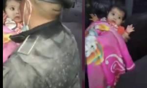 Έκρηξη Ηφαιστείου στη Γουατεμάλα: Βρέφος βρέθηκε ζωντανό μέσα στις στάχτες (vid)
