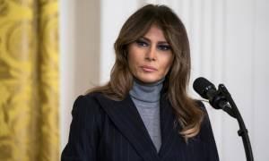 ΗΠΑ: Η Μελάνια Τραμπ εμφανίστηκε μετά από 25 μέρες απουσίας (vid)