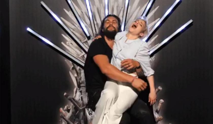 Game of Thrones: Καλίσι και Ντόγκο τα ήπιαν κι άρχισαν να δημοσιεύουν φωτογραφίες αλά dirty dancing