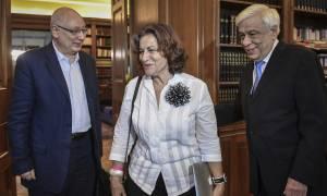 Προκόπης Παυλόπουλος: Συνάντηση με Φωτίου και Καρέλλα