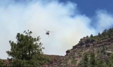 ΗΠΑ: Μεγάλη πυρκαγιά στο Κολοράντο - Εκκενώνονται σπίτια (vid)