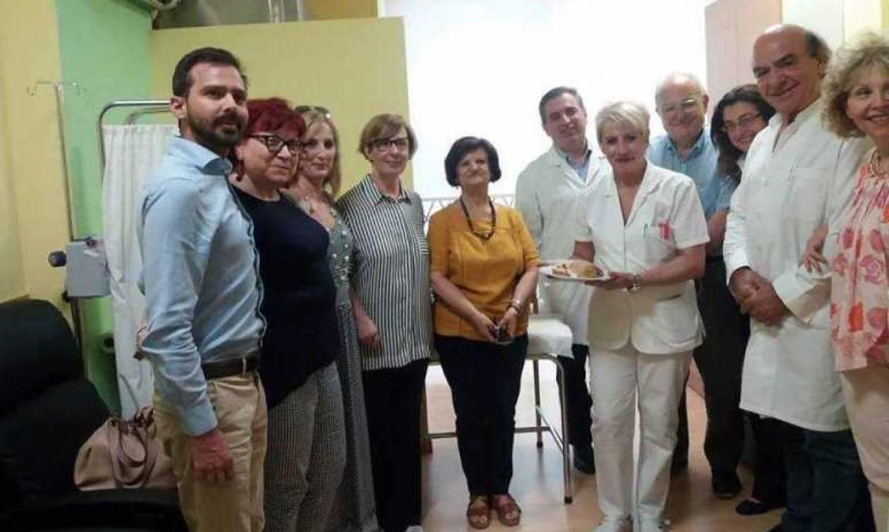 Ιπποκράτειο: Ανακαινίστηκε η αίθουσα εγχύσεων με τη φροντίδα των ρευματοπαθών (pics)