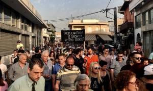 Μενίδι: Πορεία στη μνήμη του 11χρονου Μάριου «Βρείτε τον δολοφόνο του παιδιού μας» (pics)