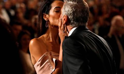 H δημόσια ερωτική εξομολόγηση της Αμάλ για τον Τζορτζ Κλούνεϊ: «Είναι ο έρωτας της ζωής μου»