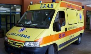 Ηράκλειο: Έπεσε από την ταράτσα και τραυματίστηκε σοβαρά στο κεφάλι