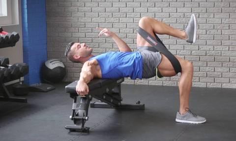 Με αυτή την άσκηση θα «χτίσεις» πόδια μέσα σε 10 λεπτά! (vid)