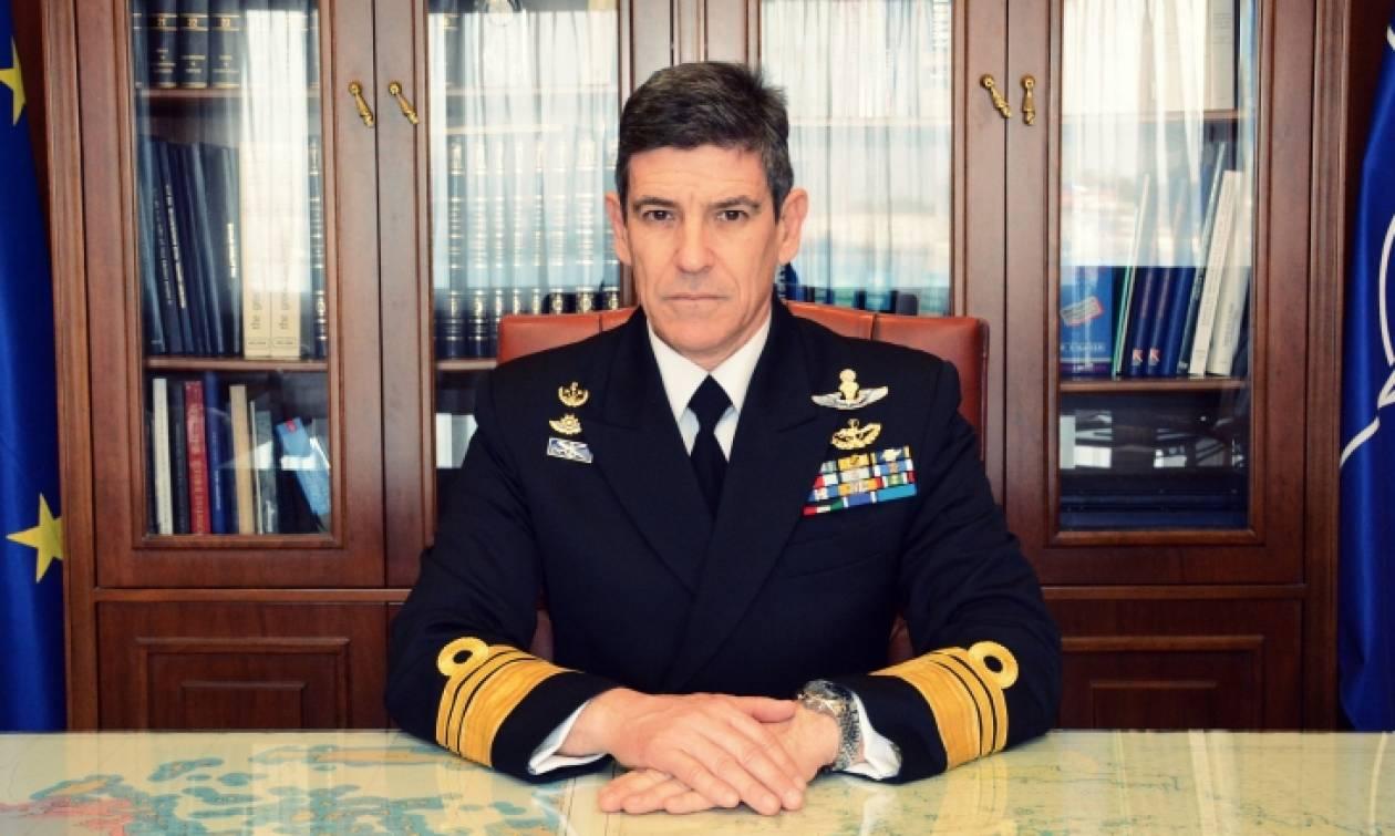 Ηχηρό μήνυμα από τον Αρχηγό Στόλου: «Είμαστε ισχυροί και ετοιμοπόλεμοι»