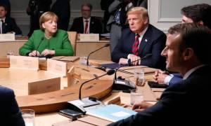 «Ναυάγιο» στους G7 - Στροφή 180 μοιρών από τον Τραμπ