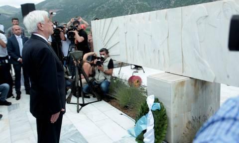 Προκόπης Παυλόπουλος: Το Δίστομο σημαίνει να μη ξεχνάμε το ναζισμό