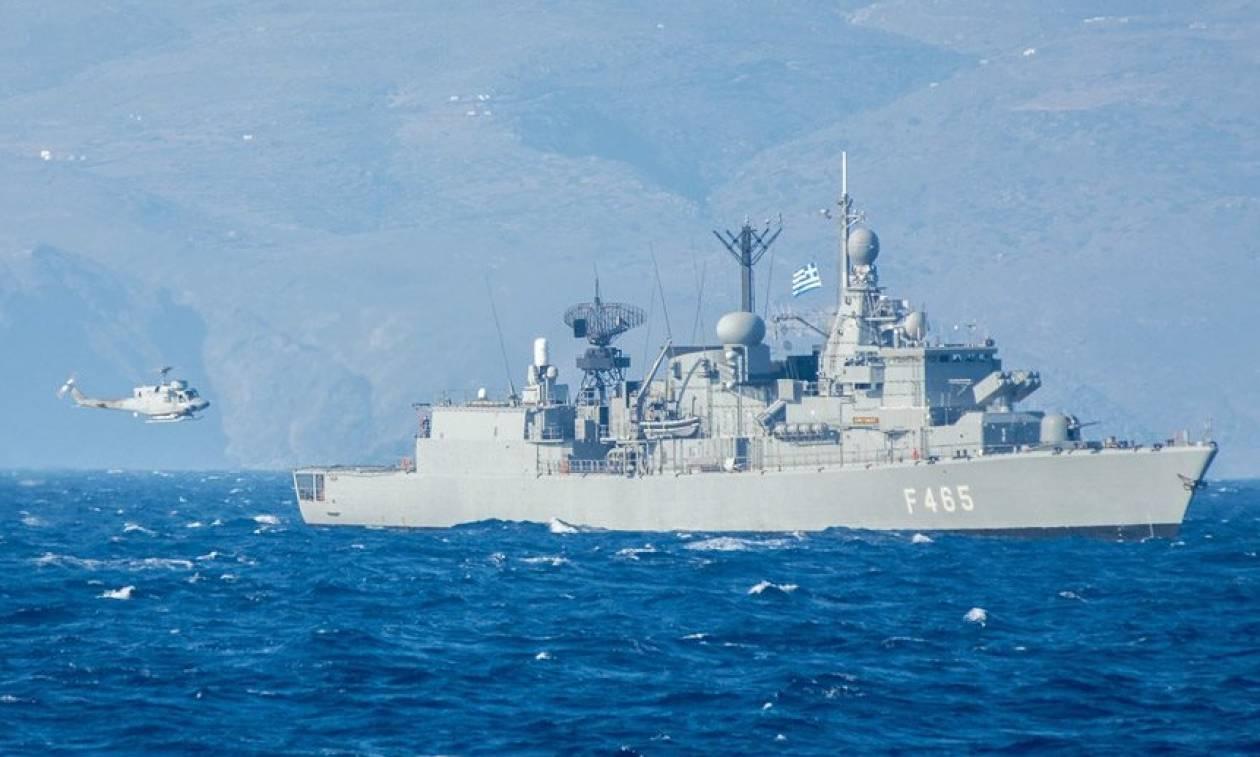 «Καταιγίς 2018»: Εντυπωσιακές εικόνες από την άσκηση του Πολεμικού Ναυτικού (vid)
