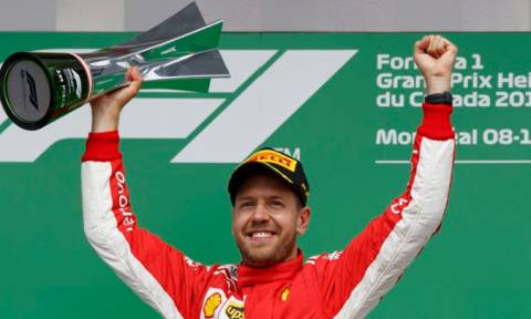 Formula 1: Θρίαμβος του Σεμπάστιαν Φέτελ στο GP του Καναδά