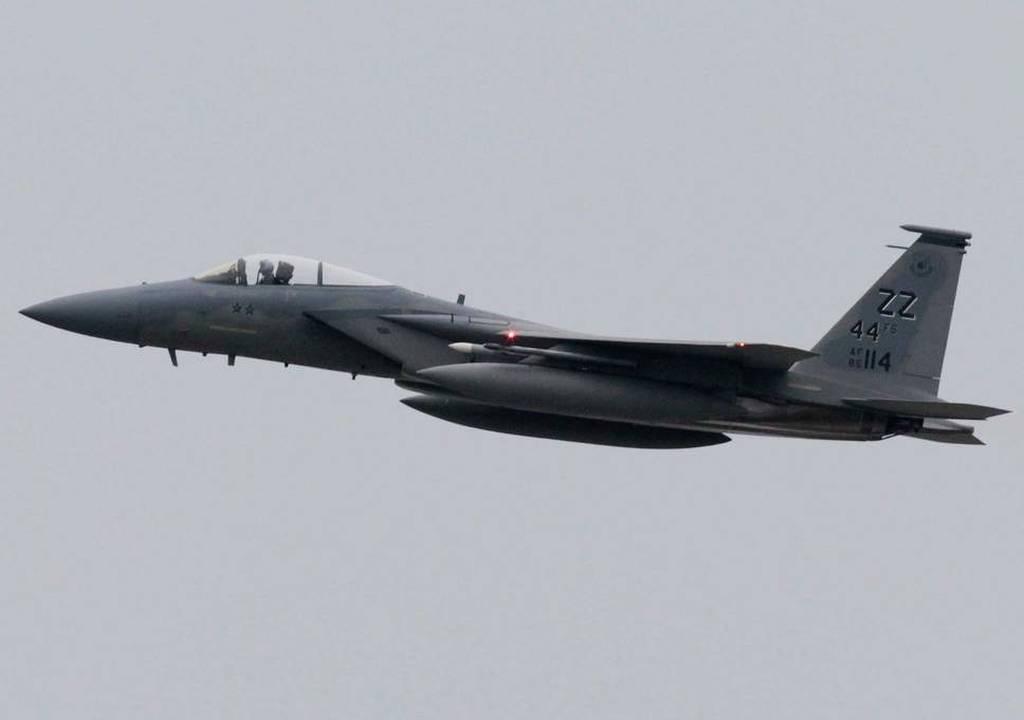 Αμερικανικό μαχητικό F-15 κατέπεσε στη θάλασσα στα ανοικτά της Οκινάουα