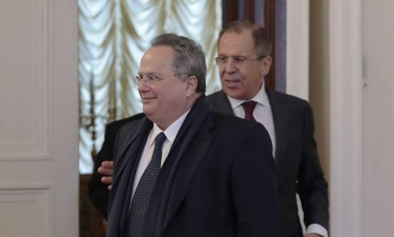 Никос Котзиас на этой неделе посетит Москву и проведет переговоры с Сергеем Лавровым