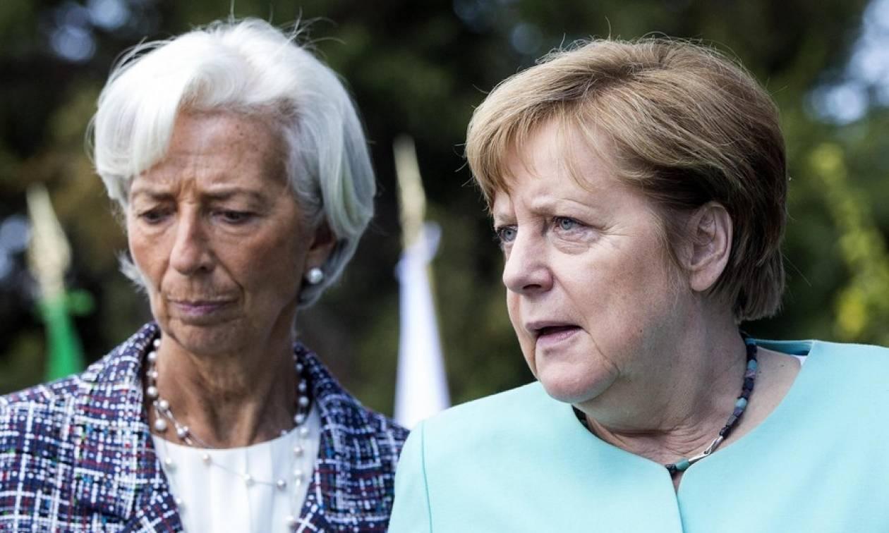 Όλα δείχνουν «έξοδο» ΔΝΤ από την Ελλάδα: Κρίσιμο ραντεβού Λαγκάρντ - Μέρκελ