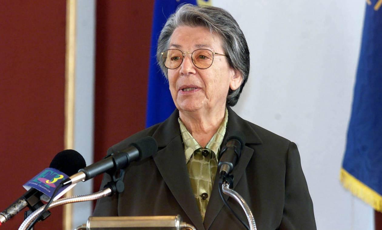 Πέθανε η πρώην υφυπουργός Εξωτερικών, Βιργινία Τσουδερού