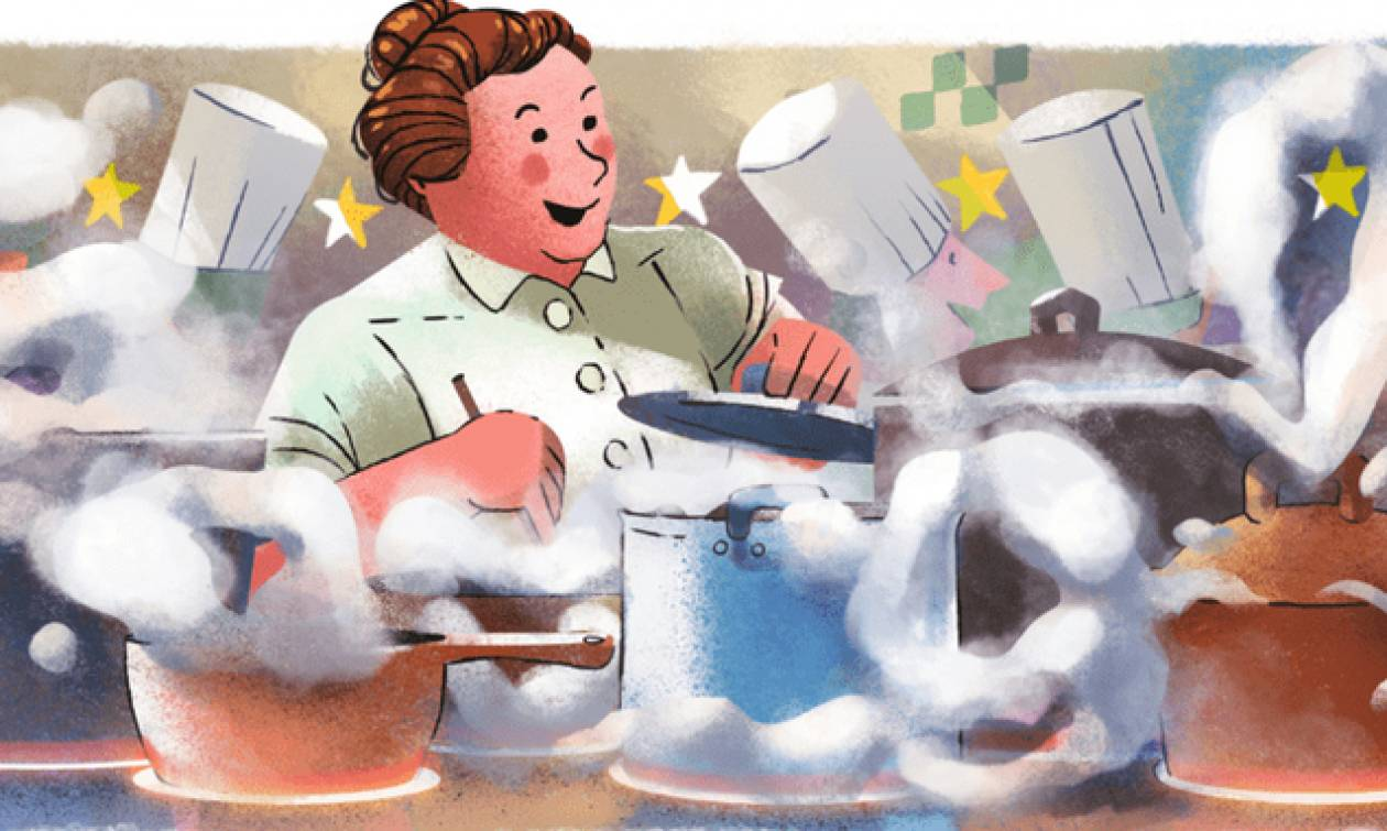 Eugenie Brazier: Στο doodle της Google η μαγείρισσα που «μάγεψε» την υψηλή κοινωνία