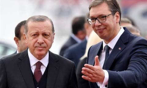 Κρίσιμο ραντεβού Ερντογάν - Βούτσιτς στην Τουρκία για τον αγωγό TANAP