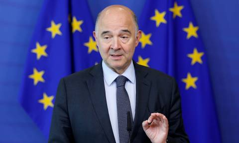 Debt relief should be substantially frontloaded, EU Commissioner Moscovici says