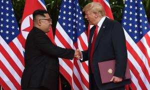 «Τέλος τα παιχνίδια πολέμου» - Τι περιλαμβάνει η συμφωνία Τραμπ - Κιμ Γιονγκ Ουν