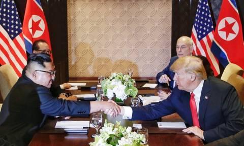 Τραμπ – Κιμ Γιονγκ Ουν: Αυτό είναι το κείμενο του κοινού ανακοινωθέντος (vids+pics)