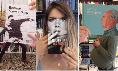 Κοίτα μαγκιά που σκέφτηκε ένα βιβλιοπωλείο στη Γαλλία!