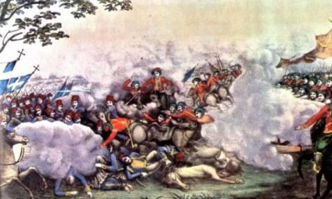 Σαν σήμερα το 1821 οι Έλληνες νικούν τους Τούρκους στη Μάχη του Λάλα