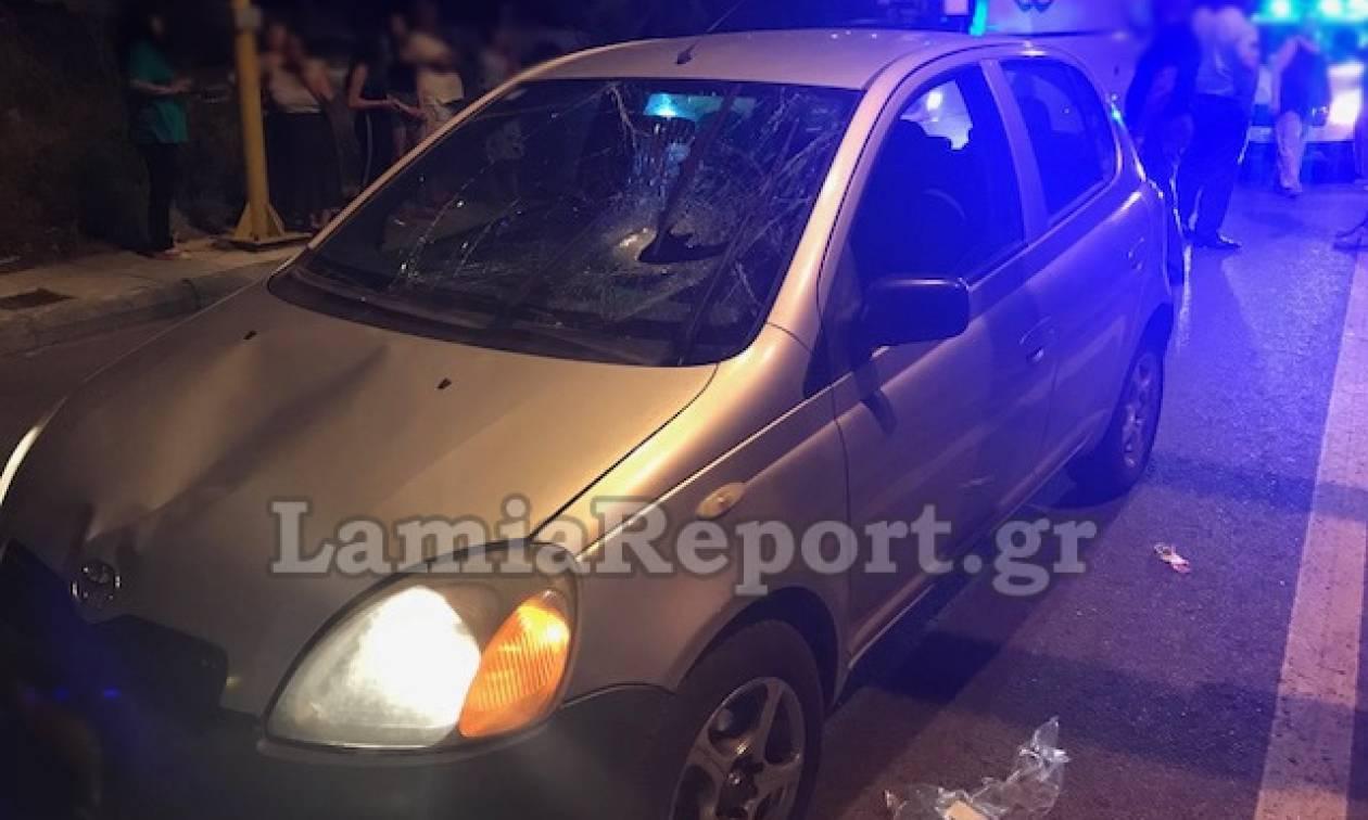 Λαμία: Μάχη για τη ζωή του δίνει 26χρονος που παρασύρθηκε από όχημα
