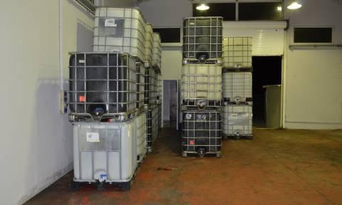 Εξάρθρωση σπείρας που εισήγαγε χημικά προϊόντα με σκοπό τη νόθευση καυσίμων