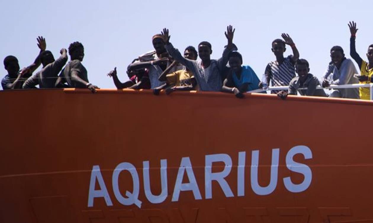 Αίσια κατάληξη στο θρίλερ με τους 629 μετανάστες του πλοίου Αquarius