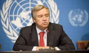 ΟΗΕ: Ο Αντόνιο Γκουτέρες χαιρετίζει τη συμφωνία Αθήνας-Σκοπίων για το ζήτημα του ονόματος