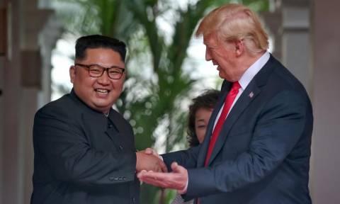 Ο Κιμ προσκάλεσε τον Τραμπ στην Πιονγιάνγκ και αποδέχθηκε το κάλεσμα να επισκεφθεί τις ΗΠΑ