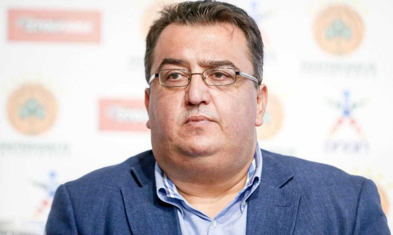 Τριαντόπουλος: «Ο Παύλος Γιαννακόπουλος θα μείνει για πάντα στην ιστορία» (vid)
