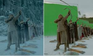 Καταπληκτικό: Δείτε πώς γυρίστηκαν οι καλύτερες σκηνές από διάσημες ταινίες! (pics)