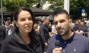 Κατερίνα Παναγοπούλου: «Υπέροχος άνθρωπος, υπέροχος Έλληνας ο Παύλος Γιαννακόπουλος» (vid)