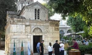 Στη Μητρόπολη για τον Παύλο Γιαννακόπουλο Μποντιρόγκα, Βράνκοβιτς, Γιαννάκης και Μπουρούσης (vid)