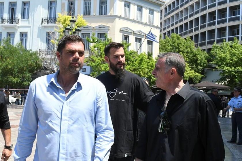 Ο Δημήτρης Παπανικολάου και ο Αντώνης Φώτσης