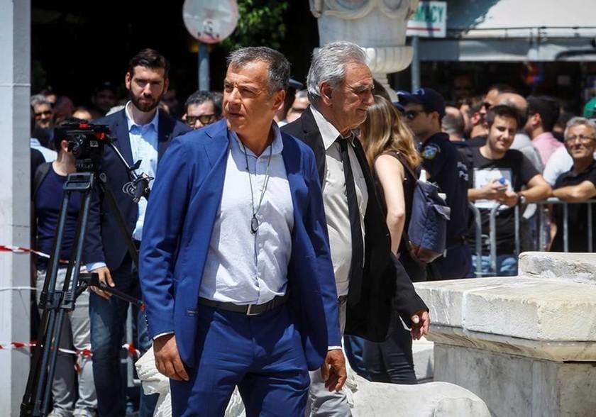 Ο επικεφαλής του Ποταμιού, Σταύρος Θεοδωράκης