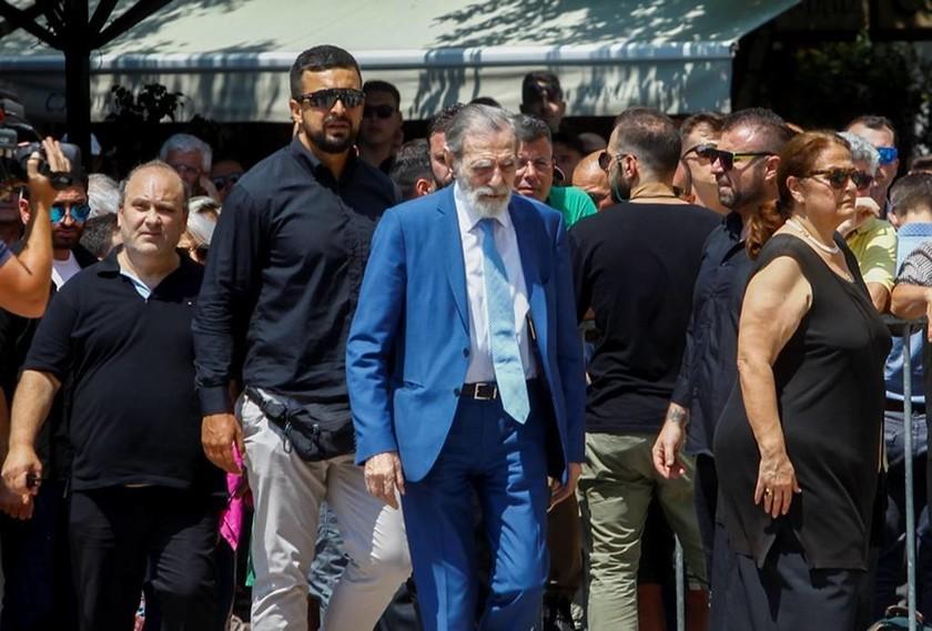 Ο επί χρόνια πρόεδρος του ποδοσφαιρικού Παναθηναϊκού, Γιώργος Βαρδινογιάννης