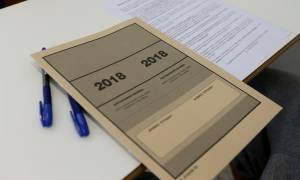 Πανελλήνιες 2018 - ΕΠΑΛ: Συνέχεια την Πέμπτη με Ανατομία, Ηλεκτροτεχνία, Ιστορία Τέχνης και Σχέδιο