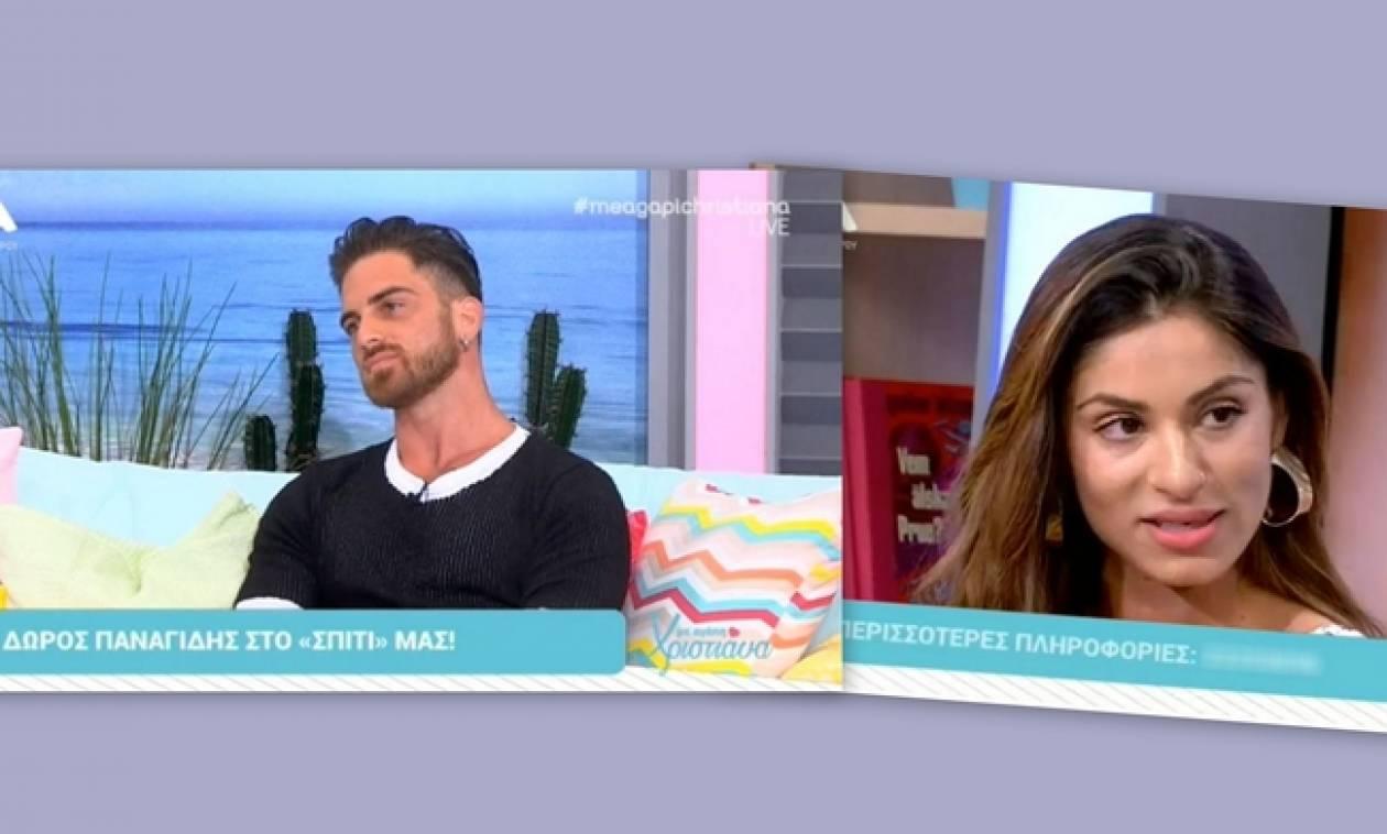 Δώρος Παναγίδης: Βρέθηκε στην ίδια εκπομπή με την πρώην του και μητέρα του παιδιού του